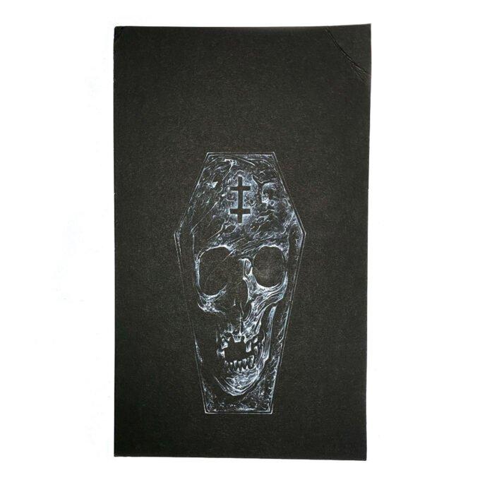 Coffin Skull 2021 Painting