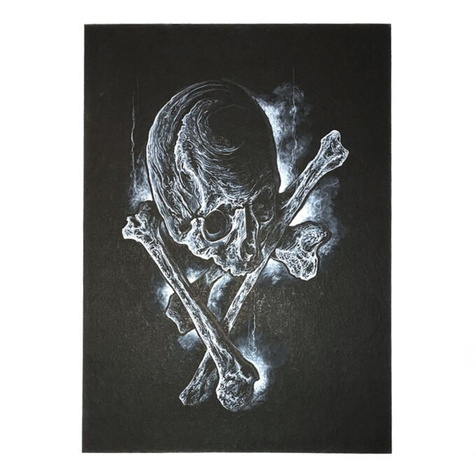 Skull & Bones Painting